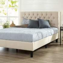 Zinus Misty Platform Bed, Full, Taupe