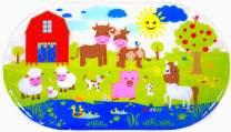 Salinka Farm Anti Slip Baby Bath Mat for Bathtub Shower Kids Non Slip mat