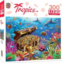 MasterPieces Tropics Lost Treasure Large 300 Piece EZ Grip Jigsaw Puzzle by Adrian Chesterman