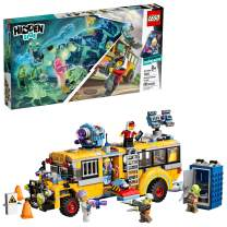 LEGO Hidden Side Paranormal Intercept Bus 3000 70423 Augmented Reality [AR] Building Kit with Toy Bus, Toy App allows for endless Creative Play with Ghost Toys and Vehicle (689 Pieces)