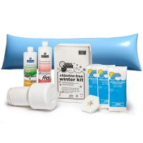 In The Swim Winterizing and Closing Chemical Kit Ultimate Bundle with 4 ½ x 15 Foot Air Pillow