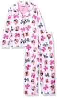 Nickelodeon Girls' JoJo Siwa 2-Piece Button Front Pajama Set