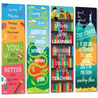 Sproutbrite Classroom Banner Decorations Vertical - Posters for Teachers - Educational, Motivational and Inspirational Growth Mindset