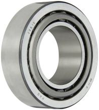 FAG 33213 Tapered Roller Bearing Cone and Cup Set, Standard Tolerance, Metric, 65 mm ID, 120mm OD, 41mm Width, Maximum Rotational Speed