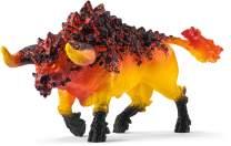 SCHLEICH Eldrador Fire Bull Imaginative Figurine for Kids Ages 7-12