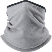 WTACTFUL Polar Fleece Neck Warmer Protective for Chilly Winter