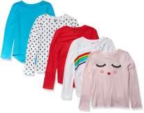 Amazon Brand - Spotted Zebra Girls' Long-Sleeve T-Shirts