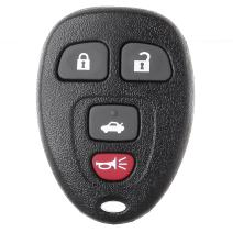 SCITOO Replacement for 1X4 Button Keyless Entry Remote Key Fob Buick Lucerne Chevrolet Impala Cadillac DTSOUC60221