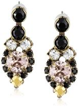 Sorrelli Assorted Round Crystal Dainty Drop Earrings
