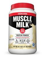 Muscle Milk Genuine Protein Powder, Banana Crème, 32g Protein, 2.47 Pound