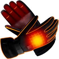 MMlove Electric Heated Gloves, Fishing Warm Gloves Winter Thermal Heating Gloves