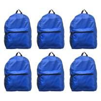 Budget Backpacks - 6 Pack - Blue