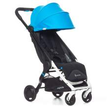Ergobaby Metro Lightweight Baby Stroller, Compact Stroller with Easy One-Hand Fold, Stroller: Blue