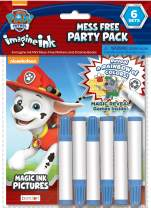 Nickelodeon Paw Patrol Imagine Ink 6-Pack Party Pack Bendon 30223-TG, Multicolor