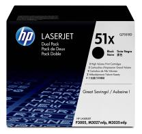 HP 51X   Q7551XD   Toner Cartridge   Black   High Yield   DISCONTINUED BY MANUFACTURER