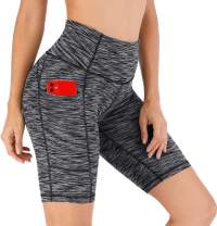 Ewedoos Workout Shorts for Women with Pockets Biker Shorts for Women High Waisted Yoga Shorts Compression Running Shorts