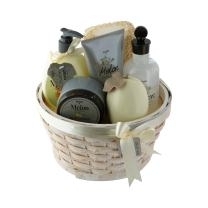 Spa Life All Natural Bath and Body Luxury Spa Gift Set Basket (Large Melon)