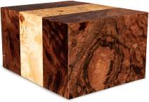 Chateau Urns - Chateau Collection - Adult Cremation Urn - Wooden Memorial Box for Ashes - Large (up to 250 lbs) - Labarde