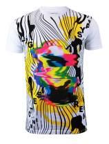 Screenshotbrand Mens Hipster Hip-Hop Urban Tees - NYC Street Fashion Graffiti Animation Print T-Shirt
