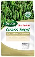 Scotts Turf Builder Grass Seed Southern Gold Mix For Tall Fescue Lawns - 20 lb., Thrives In Harsh Summer Conditions, Heat, Drought, Insect And Disease Resistant, Covers up to 5,000 sq. ft.
