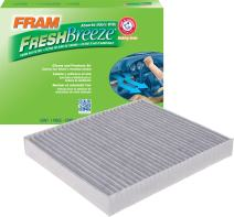 FRAM CF11966 Fresh Breeze Cabin Air Filter with Arm & Hammer