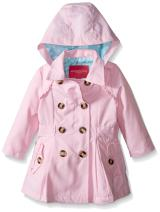 London Fog Baby Girls' Lightweight Trench Coat