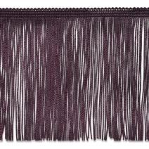 Expo International 6'' Chainette Fringe Trim, Eggplant, Fabric by The Yard