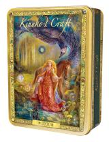 MasterPieces Daughter of Exile - Woman with Horse 1000 Piece Tin Box Jigsaw Puzzle by Kinuko Craft