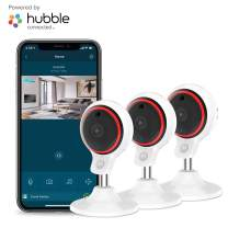 Motorola Focus71-3 Indoor Security Camera System - Surveillance, Elderly, Pet, Baby Monitor with Two-Way Audio Talk - Mountable Base, 1080p Video, 90-Degree Wide Angle View, Low Light and Night Vision