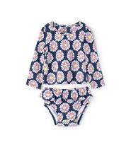 Hatley Girls' Baby Mini Rashguard Sets