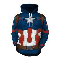 color cosplayer Unisex St. Patricks Day Lucky Charm Clover Pullover Hoodie with Pocket