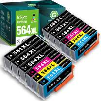GREENBOX Compatible 564 564XL Ink Cartridge Replacement for HP 564 564 XL for Hp Photosmart 5520 6510 6515 7510 7520 7525 C5370 C5380 C5550 C5570 C5580 B110a DeskJet 3520 3522 Officejet 4620(12 Pack)