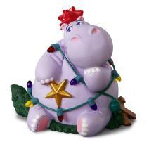 Hallmark Keepsake Christmas Ornament 2018 Year Dated, I Want a Hippopotamus for Christmas With Music