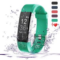 ITESLASZ Teslasz Fitness Tracker HR, IP67 Waterproof Fitness Tracker with Heart Rate Monitor Auto-Sleep Monitor 14 Kinds of Training Modes 0.96 Inches OLED Display Activity Tracker