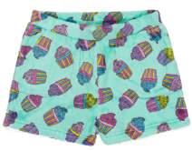 Candy Pink Girls Plush Pajama Shorts