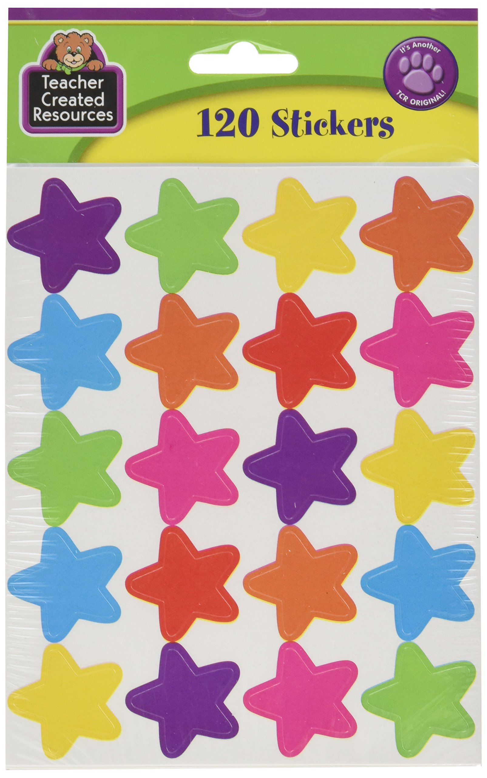 Teacher Created Resources Bright Stars Stickers (5796)