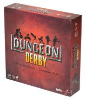 Rabbiteer Dungeon Derby - Family Friendly Strategy Board Game - Standard Edition - 3-6 Players - Ages 8+