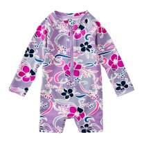 Tea Collection Shortie Rash Guard Swimwear, Baby Girls, Batik Floral