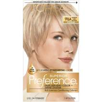 L'Oreal Paris Superior Preference Fade-Defying + Shine Permanent Hair Color, 9 1/2A Lightest Ash Blonde, 1 kit Hair Dye
