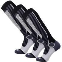Wool Ski Socks Women, Men – Warm Merino Skiing, Snowboard Winter – Shin Padding