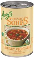 Amy's Organic Chunky Vegetable Soup, Low Fat, 14.3-Ounce