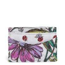 Vera Bradley Iconic Slim Card Case, Signature Cotton