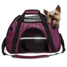 Furhaven Pet Bag   Multipurpose Hiking Backpack Carrier Roller & Travel Tote Bag w/ Weather Guard for Cats & Small Dogs - Available in Multiple Colors & Styles