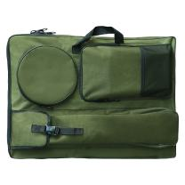 "Transon Artist Portfolio Backpack Bag for Art Supplies Size 26""x 18.5"" Green Color"