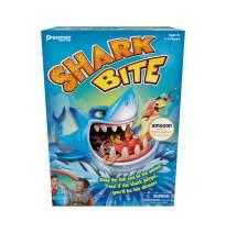 Pressman Shark Bite with Bonus Let's Go Fishin' Card Game (Amazon Exclusive) (181503)