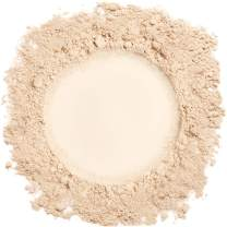 Mineral Make Up (Light), Mineral Foundation Makeup, Loose Face Powder, Natural Makeup Made with Pure Crushed Minerals. Demure Mineral Makeup