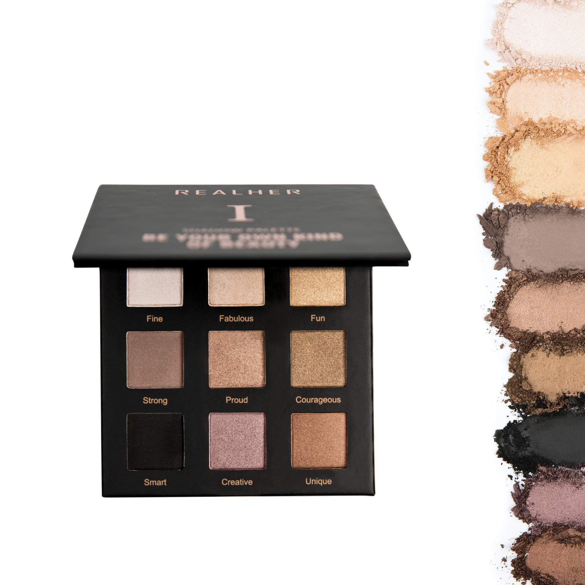 REALHER Eyeshadow Palette I- Be Your Own Kind Of Beauty (Nudes)