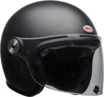 Bell Riot Flip-Up Motorcycle Helmet (Solid Matte Black, Small)