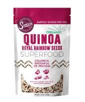 Suncore Foods – Organic Royal Rainbow Quinoa Seeds, 15oz bag, Gluten Free and Non-GMO, Vegan, Superfood