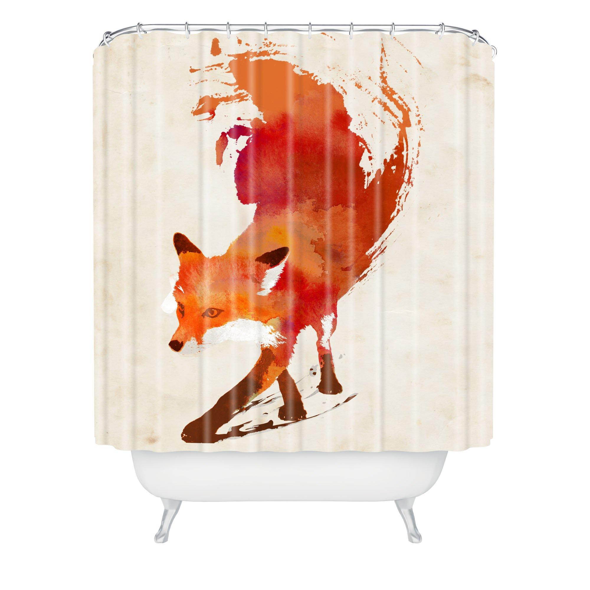 """Deny Designs Robert Farkas Vulpes Shower Curtain, 69"""" x 72"""""""